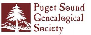 Puget Sound Genealogical Society logo